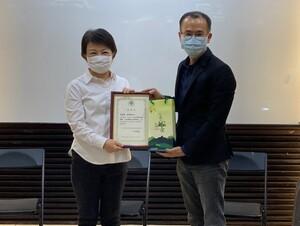 臺中市長回娘家 盧秀燕受邀地政講座職涯分享與展望
